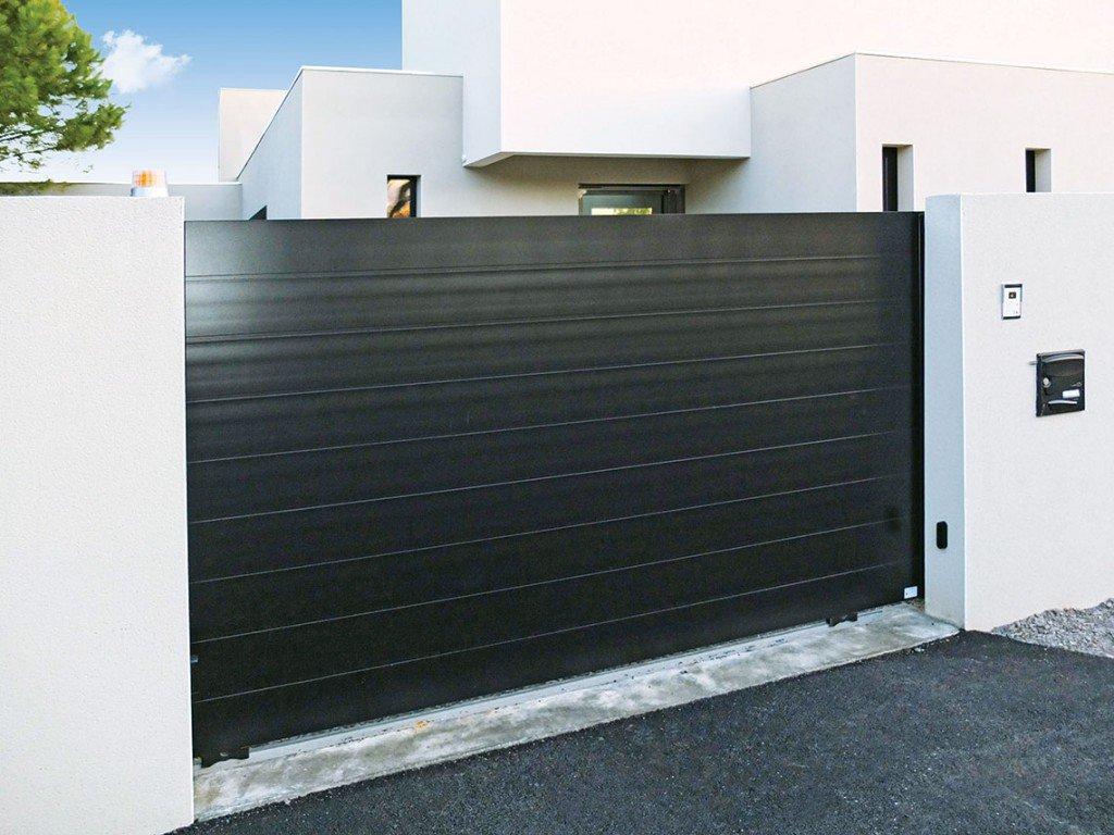 portails sur mesure sg concept. Black Bedroom Furniture Sets. Home Design Ideas