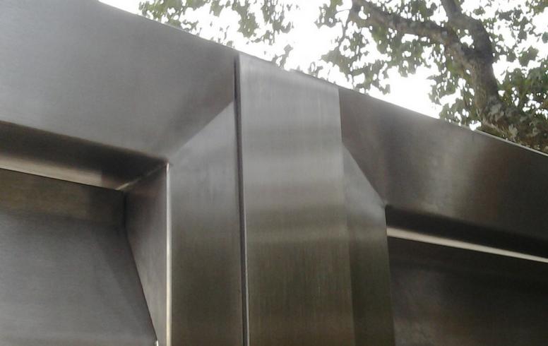 Portails sur mesure sg concept for Inox brosse sur mesure