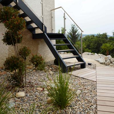 Fabriquer un escalier exterieur construire un escalier for Fabriquer un escalier en beton exterieur