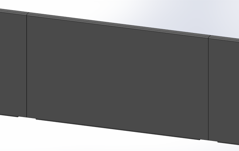 brise vue aluminium plein ral 7016 sg concept. Black Bedroom Furniture Sets. Home Design Ideas