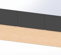 Brise-vue Aluminium Plein RAL 7016 - SG Concept